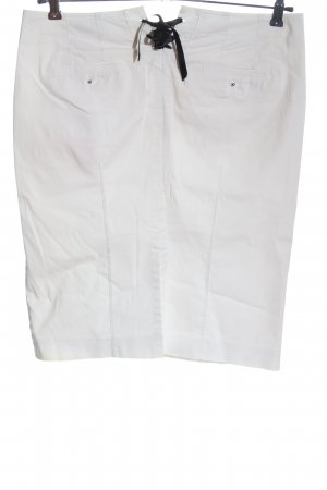 Marc Cain Pencil Skirt white casual look