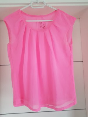 Marc Cain Bluse / Shirt Gr.S neon pink