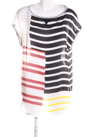 Marc Cain Blouse Top striped pattern casual look