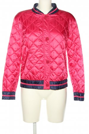 Marc Cain Bomberjacke pink Steppmuster Casual-Look