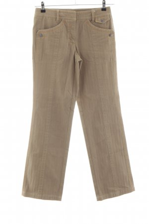 Marc Cain Boot Cut Jeans braun Casual-Look
