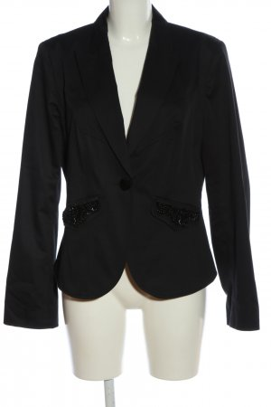 Marc Cain Boyfriend-Blazer schwarz Business-Look