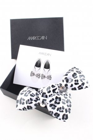 Marc Cain Brooch white-black allover print casual look