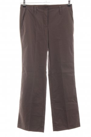 Marc Cain Bundfaltenhose braun Business-Look