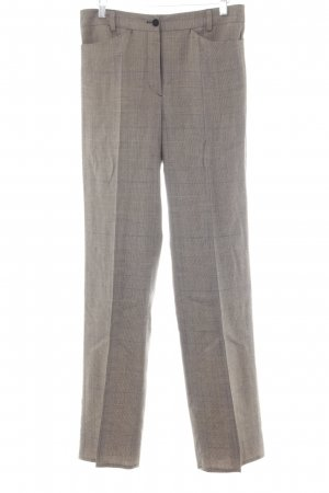Marc Cain Bundfaltenhose Hahnentrittmuster Casual-Look