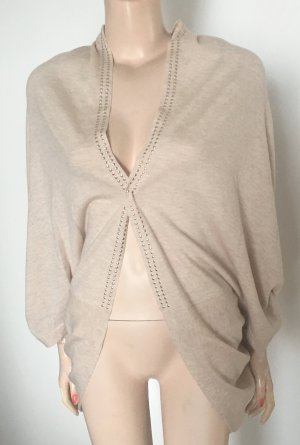 Marc Cain Cape cream-gold-colored cashmere