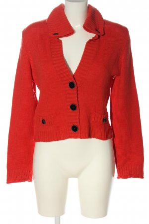 Marc Cain Cardigan rot Casual-Look
