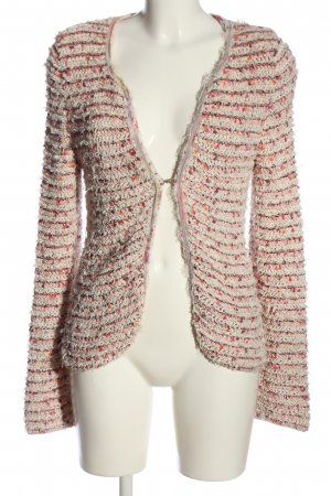 Marc Cain Cardigan pink-wollweiß meliert Casual-Look