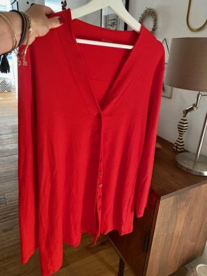 Marc Cain Cardigan red cotton
