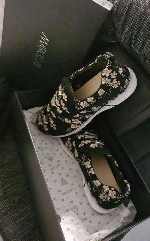 Marc Cain Slip-on Sneakers black-white