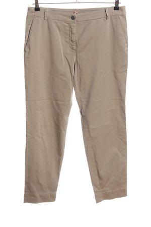 Marc Cain Pantalon chinos gris clair style décontracté