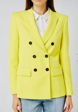 Marc Cain Collections Doppelreiher Blazer neon gelb 42 N5