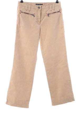 Marc Cain Corduroy Trousers nude casual look