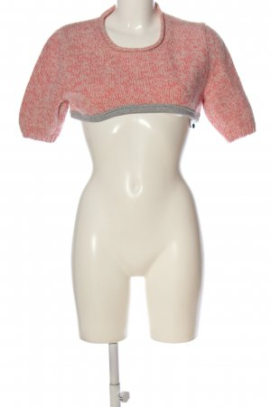 Marc Cain Cropped Jumper themed print casual look