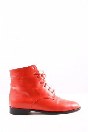 Marc Cain Desert Boots rot Casual-Look