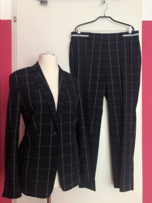 Marc Cain Trouser Suit dark blue polyester