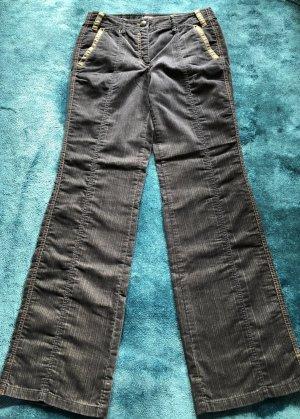 Marc Cain Jeans large bleu foncé