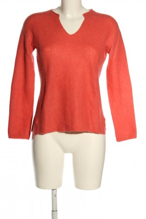 Marc Cain Feinstrickpullover rot Casual-Look