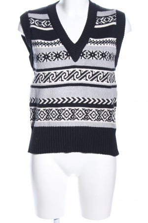 Marc Cain Feinstrickpullunder grafisches Muster Casual-Look