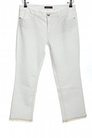 Marc Cain Five-Pocket-Hose weiß Casual-Look