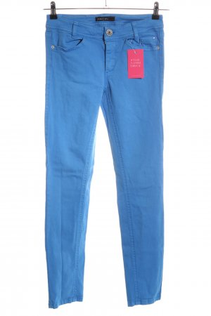 Marc Cain Five-Pocket-Hose blau Casual-Look