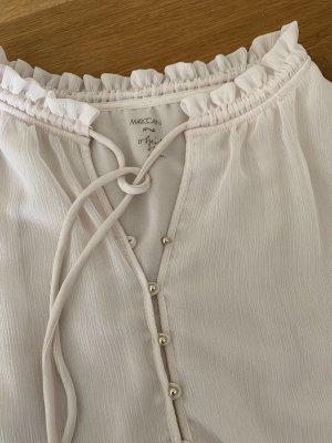 MARC CAIN fließende Boho Bluse Gr 36