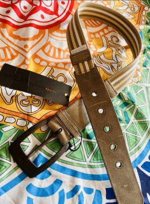 Marc Cain Leather Belt multicolored
