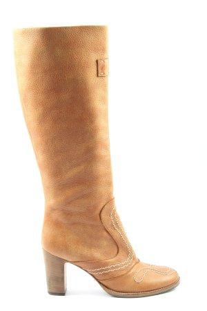 Marc Cain High Heel Boots light orange casual look
