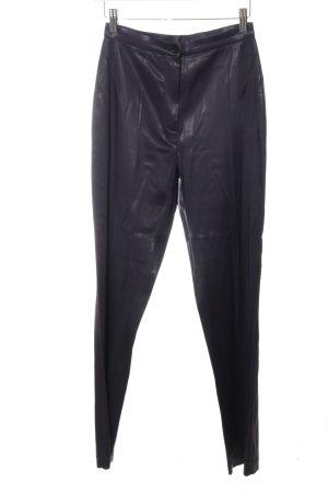 Marc Cain High-Waist Hose schwarz extravaganter Stil