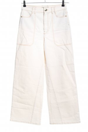 Marc Cain High Waist Jeans weiß Casual-Look
