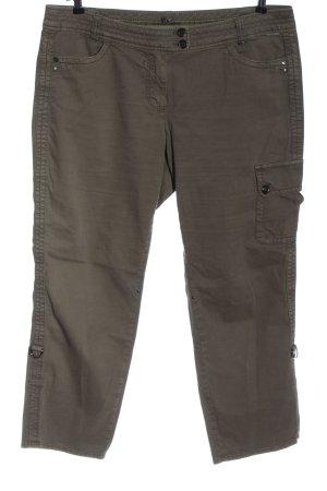 Marc Cain Pantalon cargo brun style décontracté