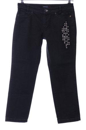 Marc Cain High Waist Jeans schwarz Casual-Look