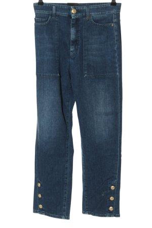 Marc Cain High Waist Jeans blau Casual-Look