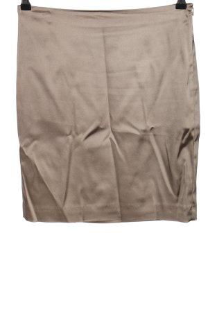 Marc Cain Jupe taille haute gris clair style décontracté