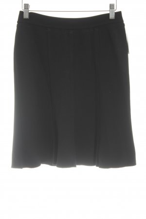 Marc Cain High Waist Rock schwarz Casual-Look