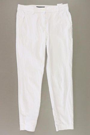 Marc Cain Hose Größe 34 weiß aus Baumwolle