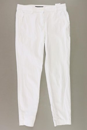 Marc Cain Trousers natural white cotton