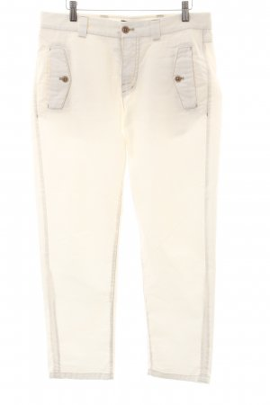 Marc Cain Trousers green grey-grey casual look
