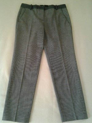 Marc Cain 7/8 Length Trousers black-white wool