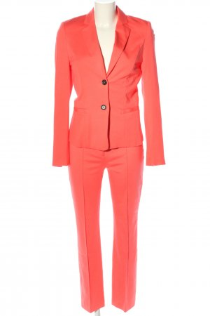 Marc Cain Traje de pantalón naranja claro elegante