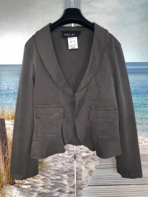 Marc Cain Short Jacket grey brown-taupe