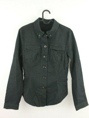 MARC CAIN Jacke Jacket Gr. N 2 36 schwarz