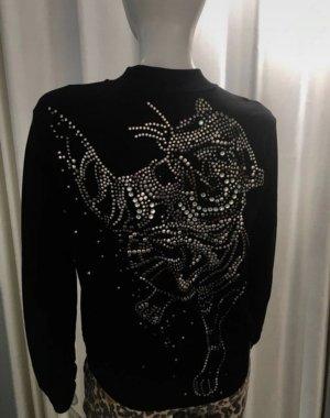 marc cain sports Veste chemise noir tissu mixte