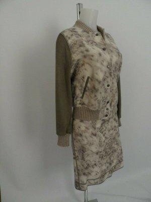 Marc Cain Jacke & Rock   Gr. N5 / 40 Wolle/ Leder Edel , Beige / Braun