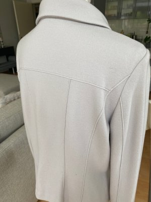 Marc Cain Pea Jacket light grey-natural white