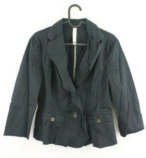 MARC CAIN Jacket Blazer Gr. N 2 36 schwarz