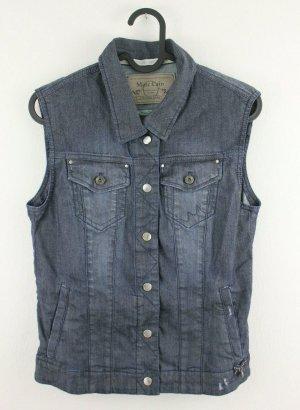 marc cain sports Denim Vest blue cotton