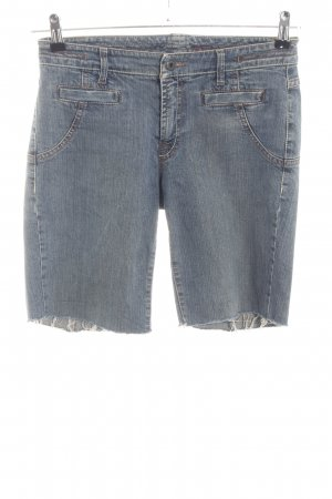 Marc Cain Jeansshorts blau Casual-Look