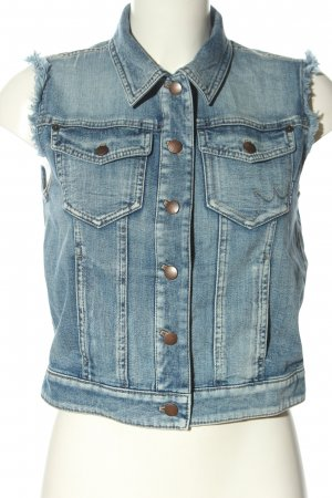 Marc Cain Jeansweste blau Casual-Look