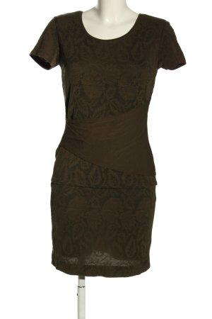 Marc Cain Jersey twin set bruin-brons volledige print casual uitstraling